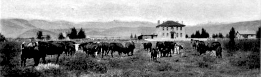 Shoshone Mission School near Fort Washakie, c1906.
