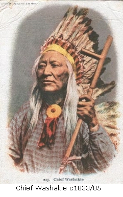 Chief Washakie c1833-85