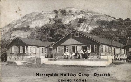 Dining Rooms at Merseyside Holiday Camp, Dyserth