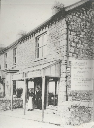 Prengwyn Stores in Dyserth High Street