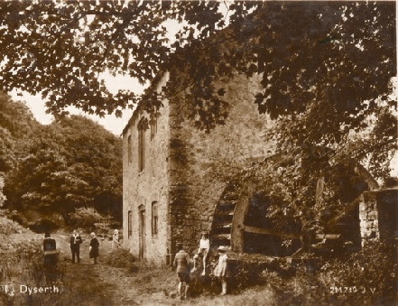 Grove Mill, Marian Mills, near Dyserth and Trelawnyd, from a card posted in 1935