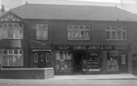Samuel Jones and Son in the High Street, Dyserth