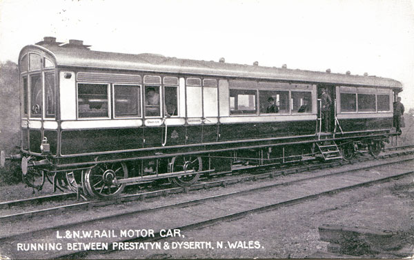 A Railmotor on Dyserth railway