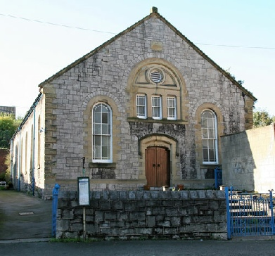 Bethel Chapel, opposite Dyserth Waterfall in 2005