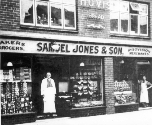 Samuel Jones and Son, new shop, Dyserth