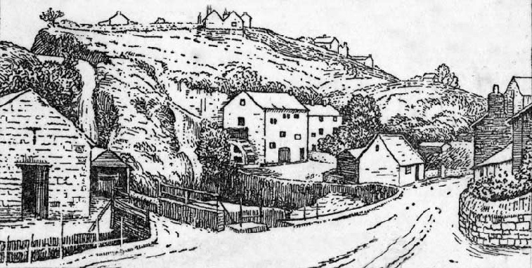 Dyserth Mill in 1878
