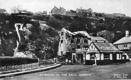 Falls and the old mill, Dyserth