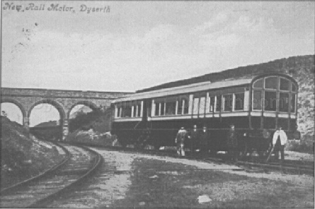 Railmotor on the Railway, near Dyserth station