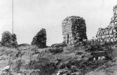Ruins of Dyserth Castle