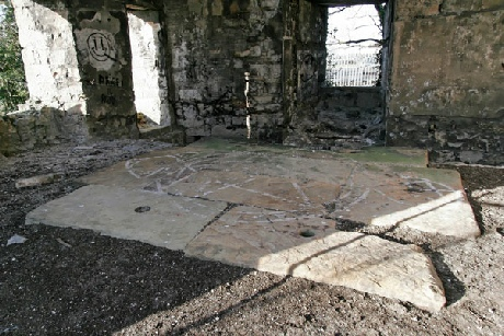 Inside Clive Engine House, Talargoch, Dyserth